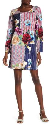 Johnny Was Verdell Mixed Print Dress