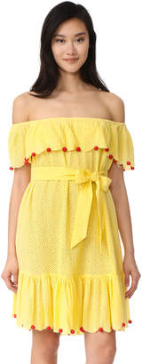 Marysia Swim Off the Shoulder Dress $528 thestylecure.com