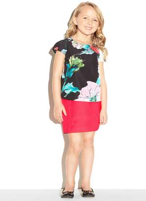Milly Minis MillyMilly Paper Floral Chloe Top