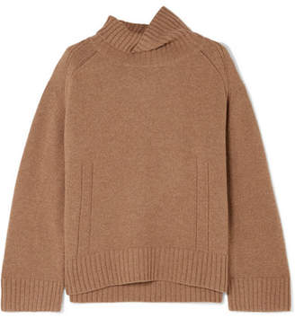 By Malene Birger Aleya Oversized Wool-blend Turtleneck Sweater - Brown