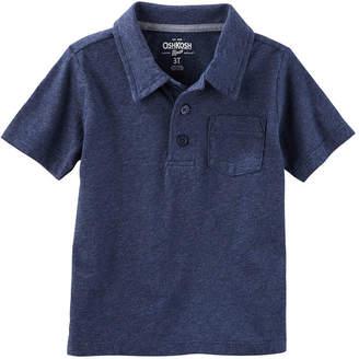 Osh Kosh Oshkosh Short Sleeve Polo Toddler Boys