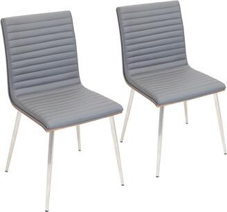Lumisource Set Of 2 Mason Swivel Chairs