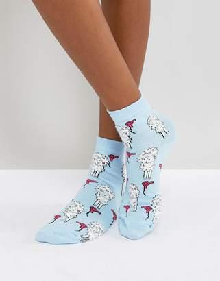 Asos Fluffy Poodle Socks