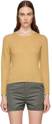 Acne Studios Tan Shrunken Fit Crewneck Sweater
