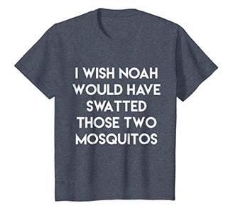 Noah and Mosquitos Funny Religion Beliefs Apparel Tshirt