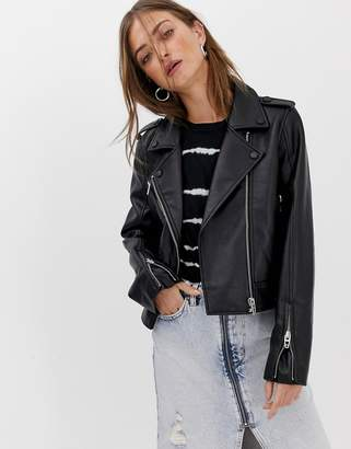 Blank NYC biker jacket
