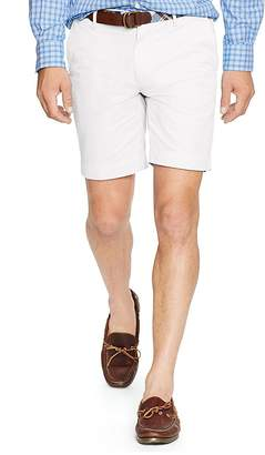 Polo Ralph Lauren Straight Fit Pima Cotton Shorts $98.50 thestylecure.com
