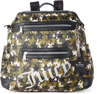 Juicy Couture Green Star Studded Backpack