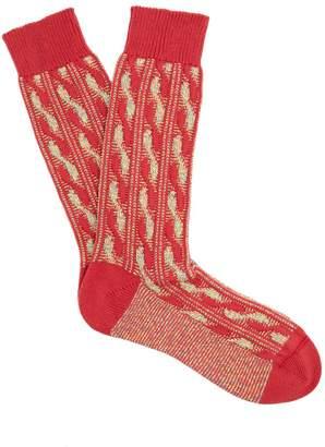 Pantherella Charlecote cotton-blend socks