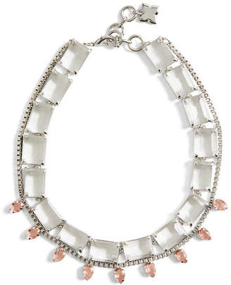 BCBGMAXAZRIA Layered Stone Necklace