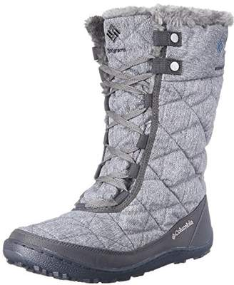 Columbia Women's Minx Mid II OH Twill Snow Boot $120 thestylecure.com
