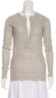 Balmain Sheer Cashmere Sweater