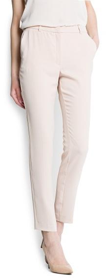 MANGO Suit slim trousers