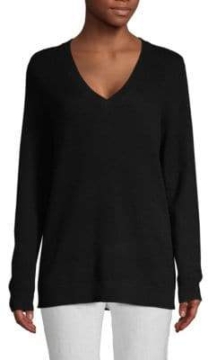 Saks Fifth Avenue V-Neck Cashmere Sweater