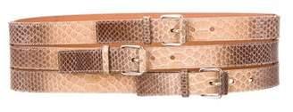 Devi Kroell Python Waist Belt