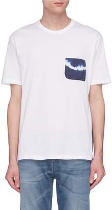 Denham Jeans 'Amnesia' tie-dye pocket T-shirt