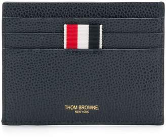 Thom Browne Airmail Print Compartment Cardholder