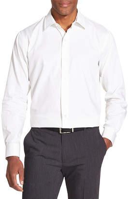 Van Heusen Slim Striped Long-Sleeve Button-Down Shirt