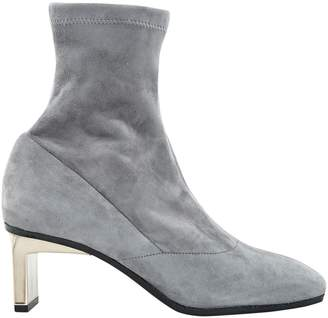 3.1 Phillip Lim Grey Suede Ankle boots