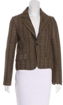Marni Wool Tweed Blazer