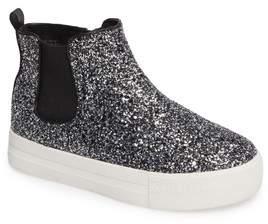 Ash Lynn Glittery Platform Sneaker Boot