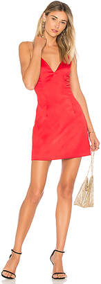 by the way. Kacie Satin Mini Dress