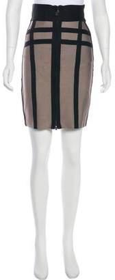 Herve Leger Knee-Length Pencil Skirt w/ Tags