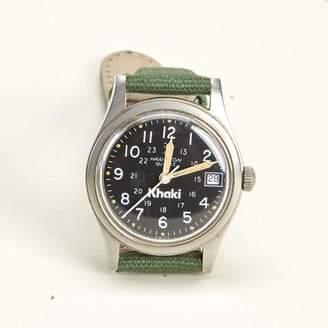 Blade + Blue Vintage Hamilton Khaki Military Watch