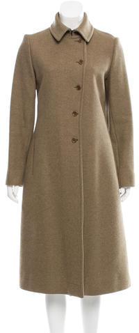 Miu MiuMiu Miu Wool Long Coat