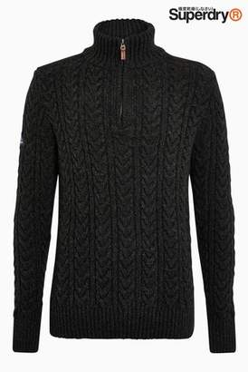 Next Mens Superdry Jacob Henley Jumper