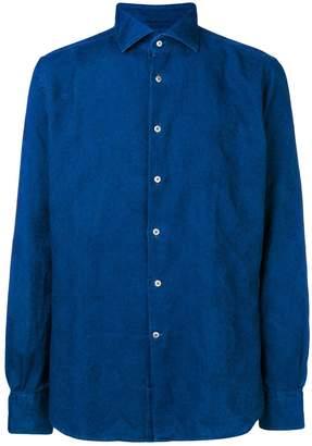 Glanshirt paisley embroidered shirt