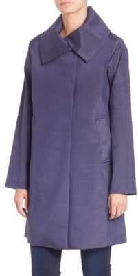 Jane Post Women's Jane A-Line Coat - Blue - Size XS