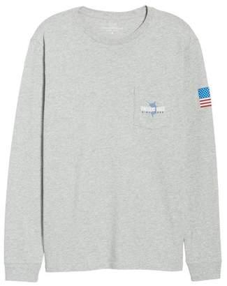 Vineyard Vines Marlin 98 Long Sleeve Pocket T-Shirt