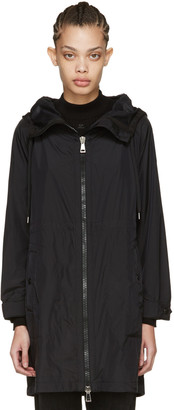 Moncler Black Ortie Hooded Coat $1,000 thestylecure.com