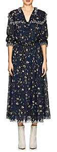 Etoile Isabel Marant Women's Floral Cotton Maxi Dress-Blue