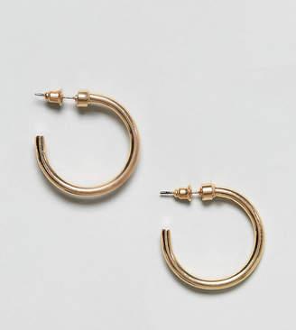 Reclaimed Vintage Inspired Thick Hoop Earrings