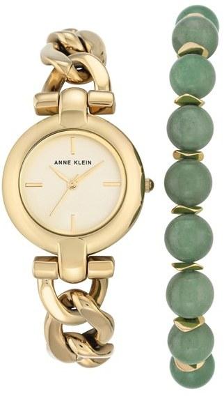 Anne KleinWomen's Anne Klein Watch & Bracelet Set, 30Mm