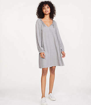Lou & Grey Cozy Tie Up Dress
