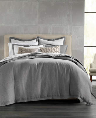 Hotel Collection Linen King Duvet Cover, Created for Macy's Bedding
