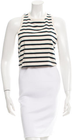 T by Alexander Wang Sleeveless Crop Top w/ Tags