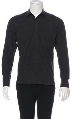 Billy Reid Woven Textured Dress Shirt