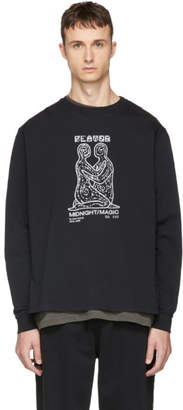 Second/Layer Black Long Sleeve Midnight Magic T-Shirt