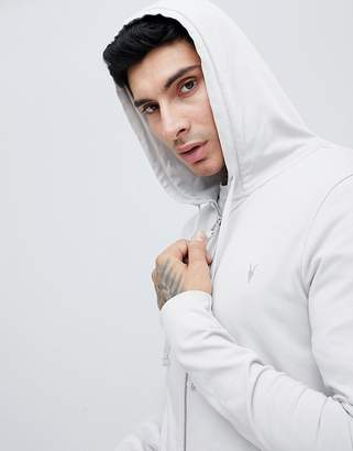 AllSaints hoodie in grey