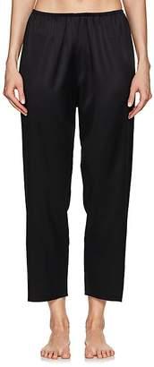 The Great Eros Women's Ereni Stretch-Silk Crop Pajama Pants