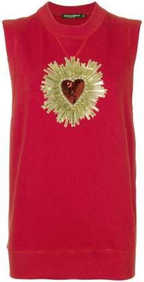 Dolce & Gabbana Sacred Heart tank top