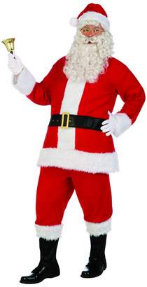 Forum Novelties Men's Santa Claus Costume Flannel Suit
