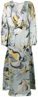 Emilio Pucci Frida Print Evening Dress