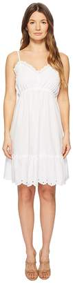 McQ Broderie Anglaise Mini Dress Women's Dress