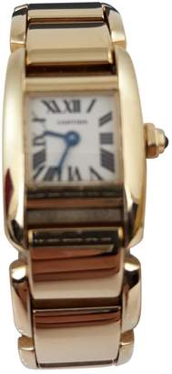 Cartier Tank Petit Modèle yellow gold watch