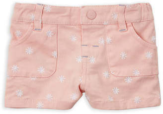Margherita Missoni (Newborn/Infant Girls) Embroidered Denim Shorts